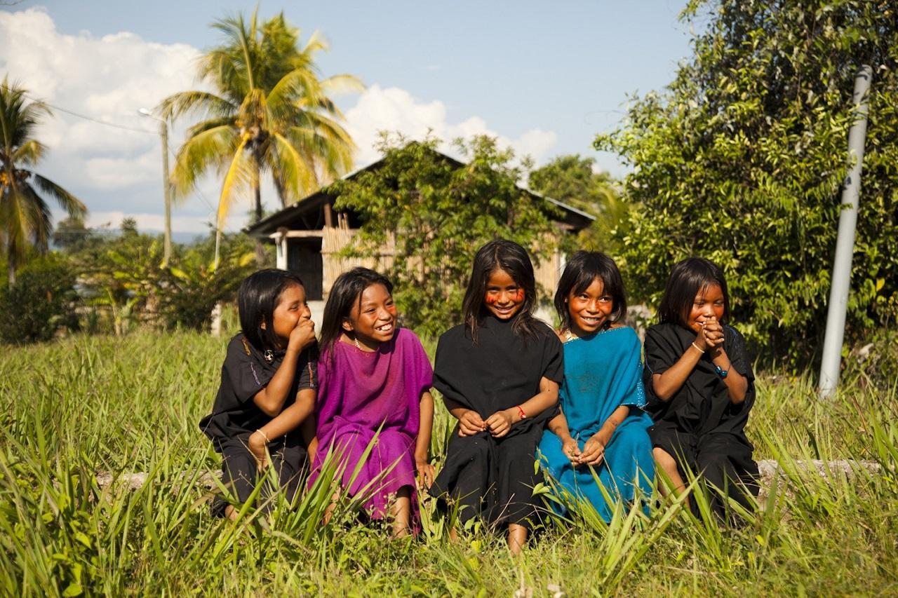 Ashaninka Girls Peru